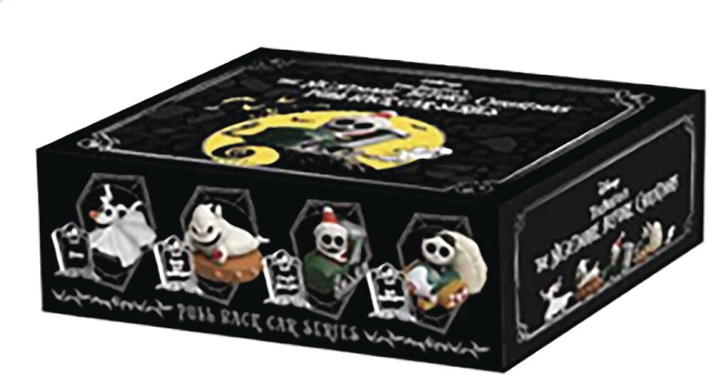 Beast Kingdom - Beast Kingdom - Nightmare Before Christmas Pull Back Car Set
