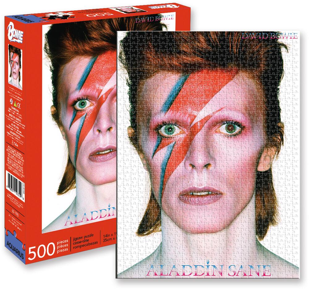 David Bowie Aladdin Sane 500 PC Jigsaw Puzzle - David Bowie Aladdin Sane 500 Pc Jigsaw Puzzle