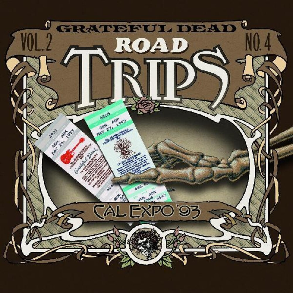 Grateful Dead - Road Trips Vol. 2 No. 4--Cal Expo '93 (Jewl)