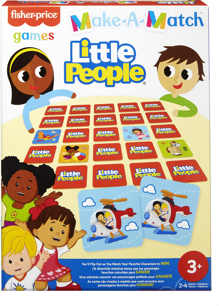 Games - Mattel Games - Fisher Price Make-A-Match Little People