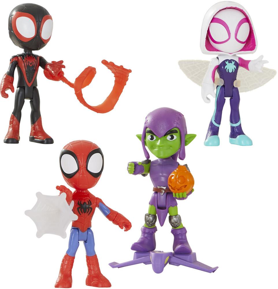 Saf Hero Figure Ast - Hasbro Collectibles - Spidey And His Amazing Friends Her FigureAssortment
