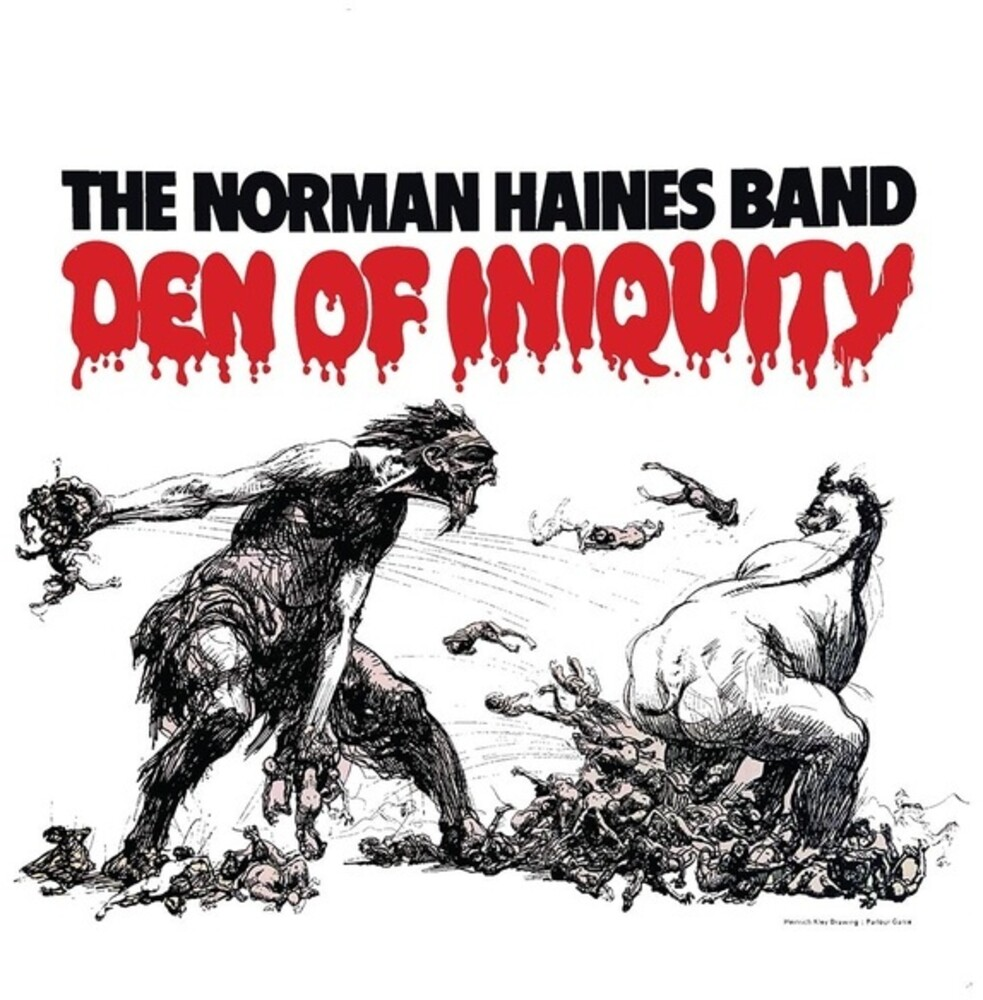 Norman Haines Band - Den Of Iniquity (W/Cd) (2pk)