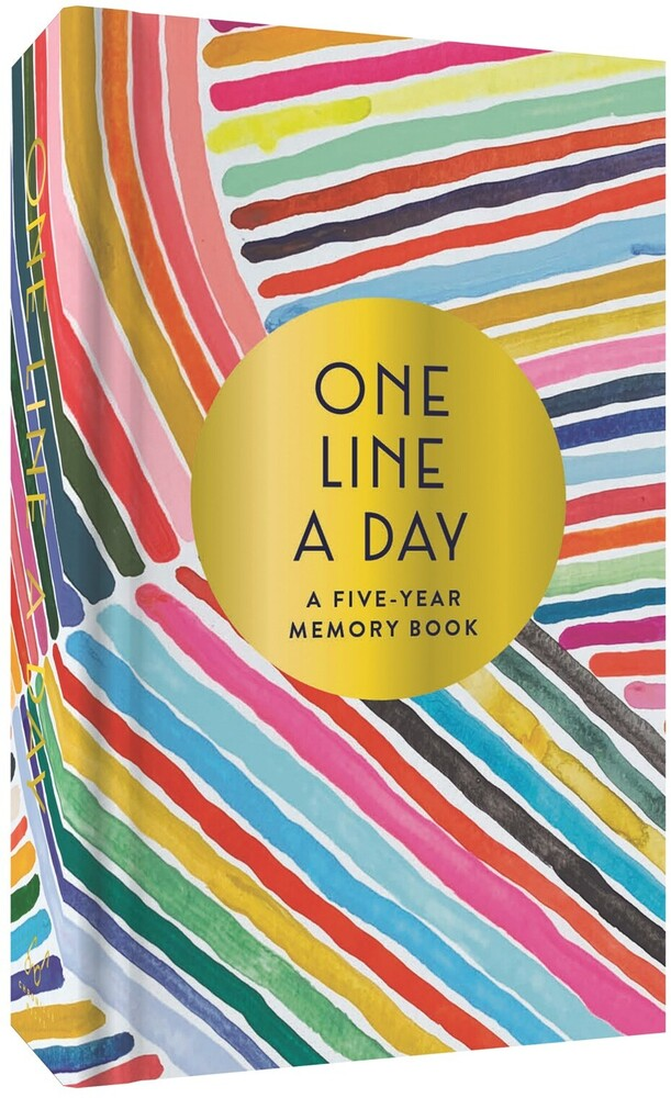 Kindah Khalidy - Rainbow One Line a Day: A Five-Year Memory Book