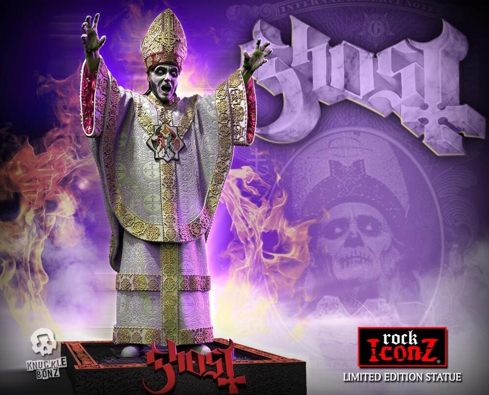 - Knucklebonz - Ghost - Papa Nihil Rock Iconz Statue