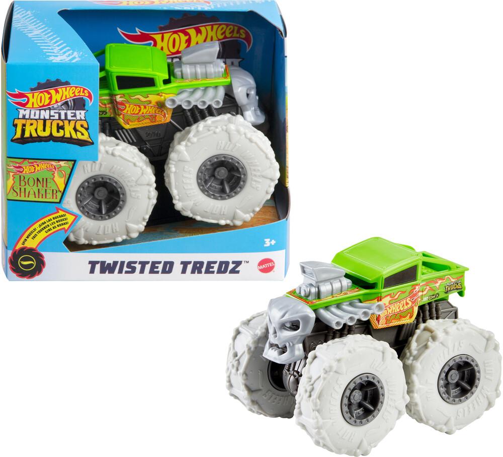- Mattel - Hot Wheels Monster Trucks 1:43 Twisted Tredz