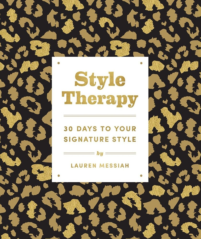 Lauren Messiah - Style Therapy (Ppbk)