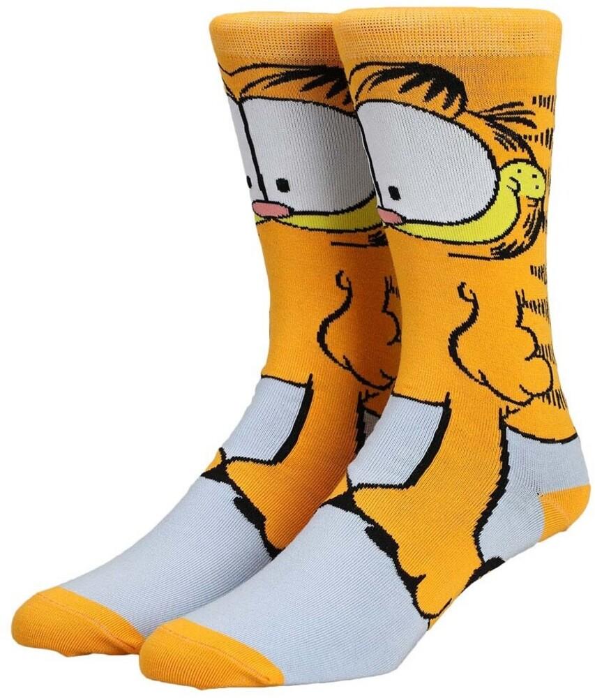 - Garfield 360 Character Collection Crew Socks 8-12