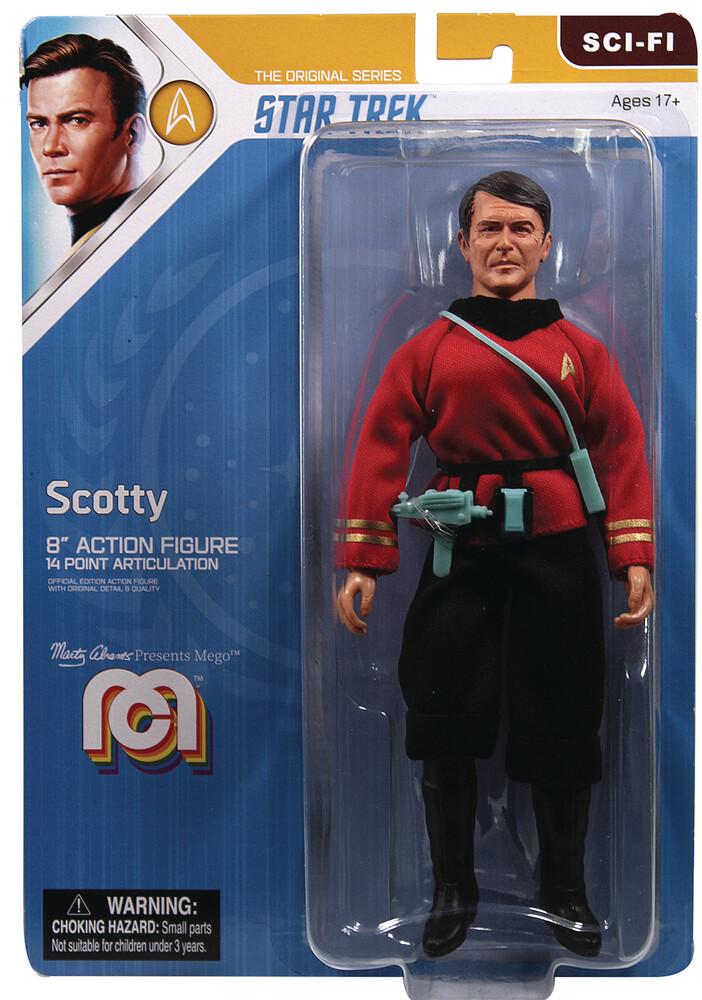- Mego Sci-Fi Star Trek Tos Scotty 8in Af (Afig)