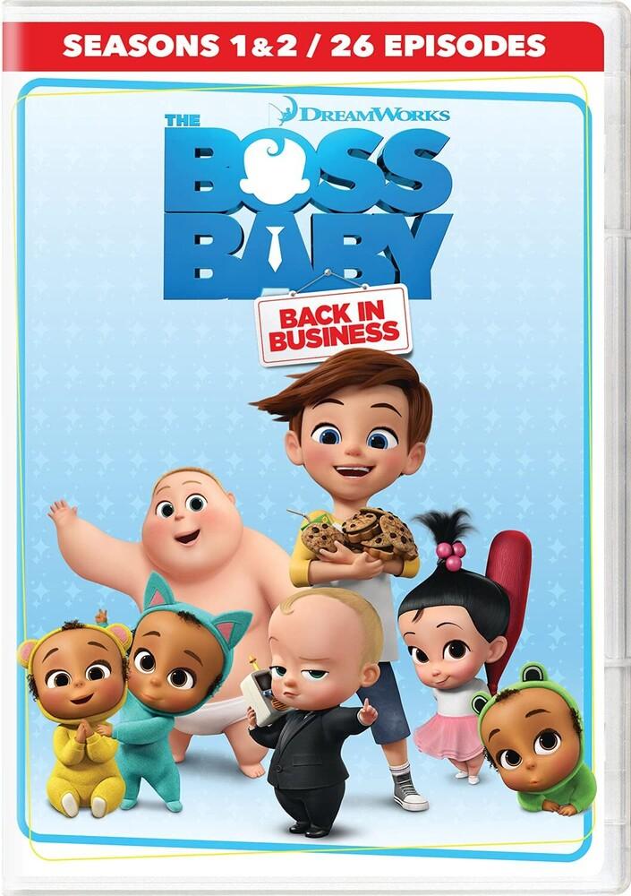 - Boss Baby: Back In Business - Seasons 1 & 2 (4pc)