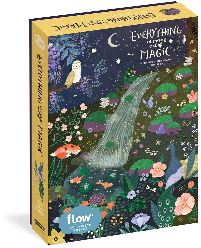 Smit, Irene / Van Der Hulst, Astrid - Everything Is Made Out Of Magic 1000 Piece Puzzle
