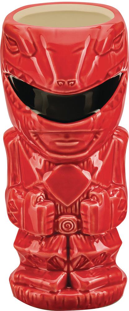 - Power Rangers Red Ranger Tiki Mug (Clcb) (Mug)