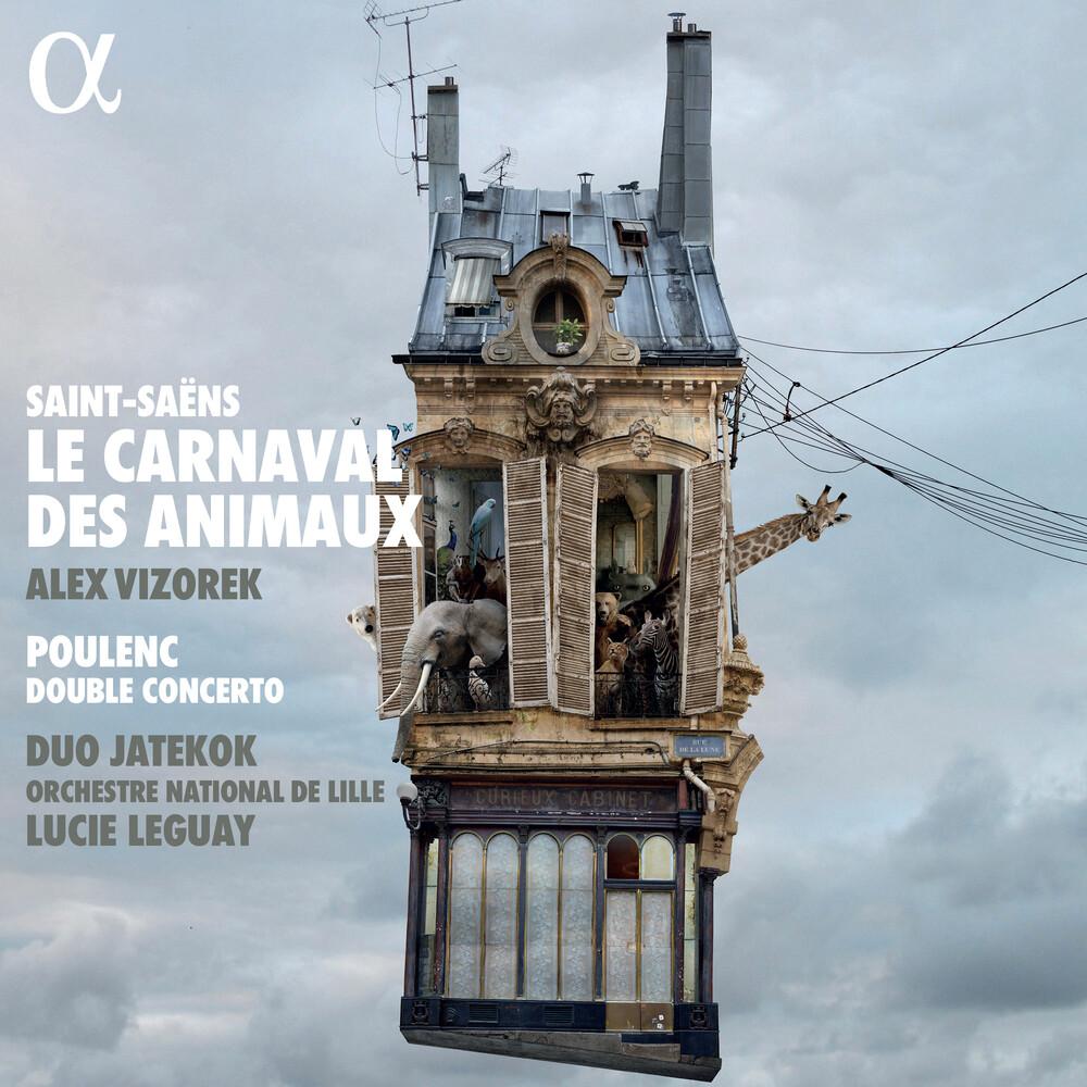 Poulenc / Duo Jatekok / Vizorek - Le Carnaval Des Animaux / Concerto Pour Deux