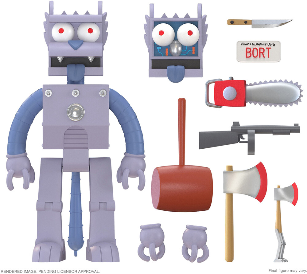 Simpsons Ultimates! Wave 1 - Robot Scratchy - Simpsons Ultimates! Wave 1 - Robot Scratchy (Afig)