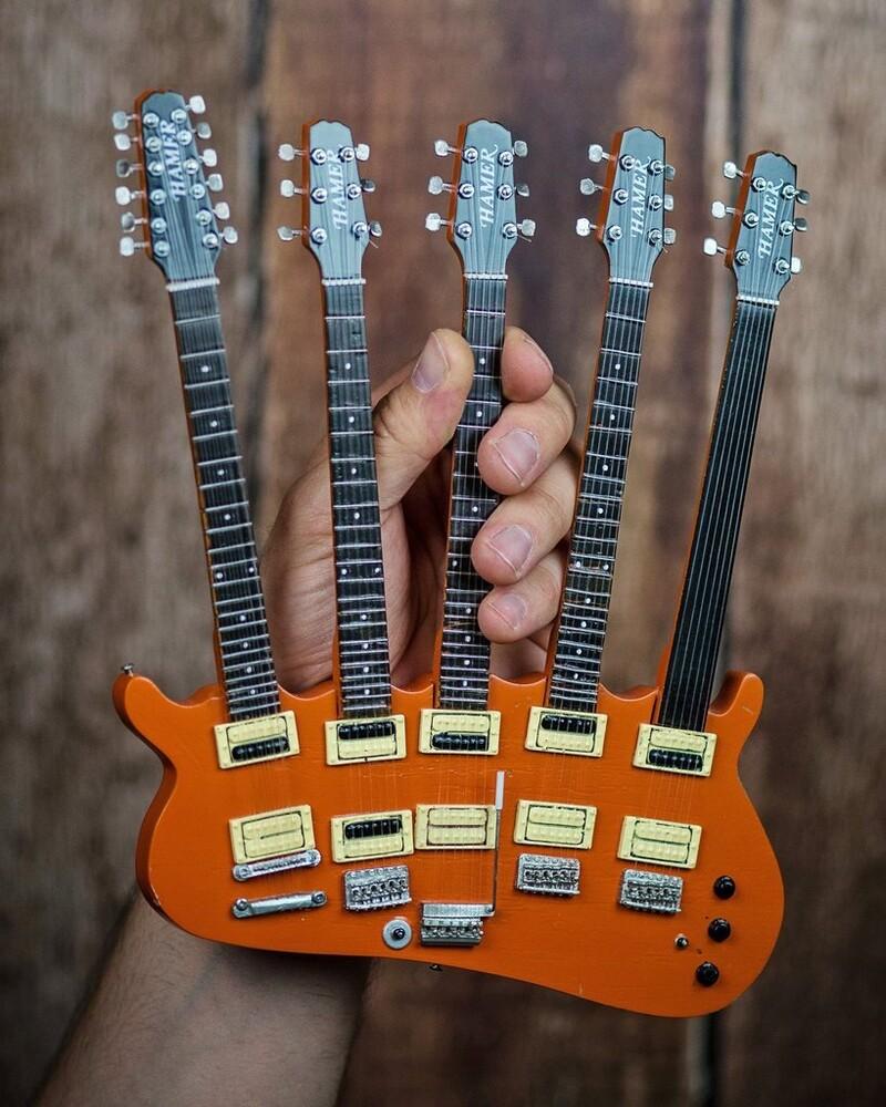 Rick Nielsen - Rick Nielsen Cheap Trick Five-Neck Mini Guitar