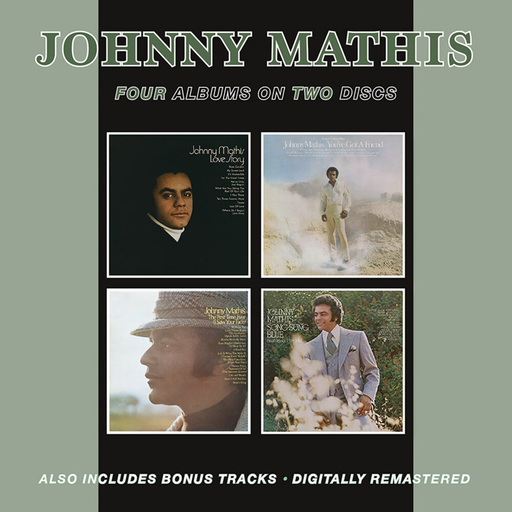 Johnny Mathis - Love Story / You've Got A Friend / First Time Ever