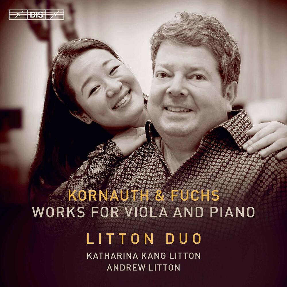 Fuchs / Litton - Works For Viola & Piano (Hybr)