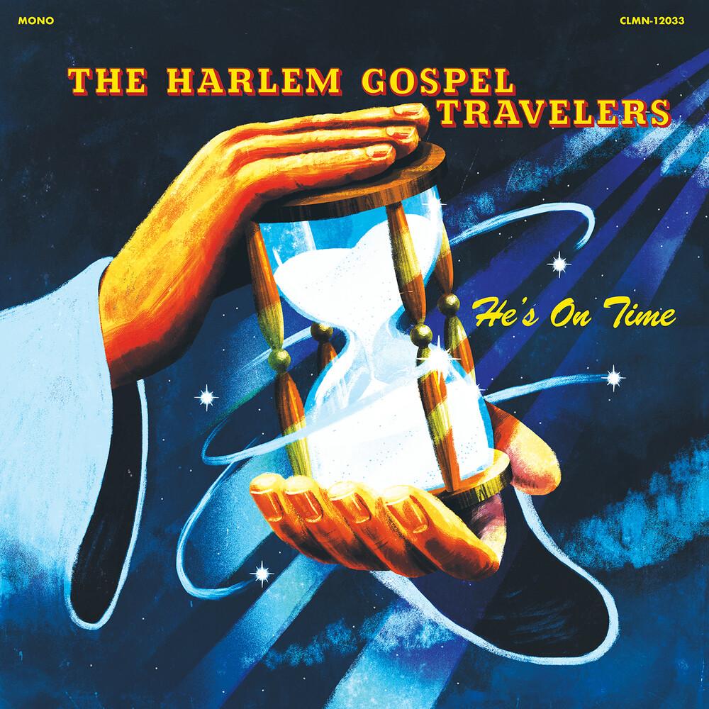 The Harlem Gospel Travelers - He's On Time - (Color Vinyl) (Colv) (Cvnl)