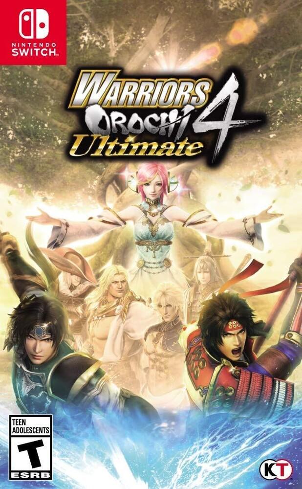 Swi Warriors Orochi 4 Ultimate - WARRIORS OROCHI 4 Ultimate for Nintendo Switch