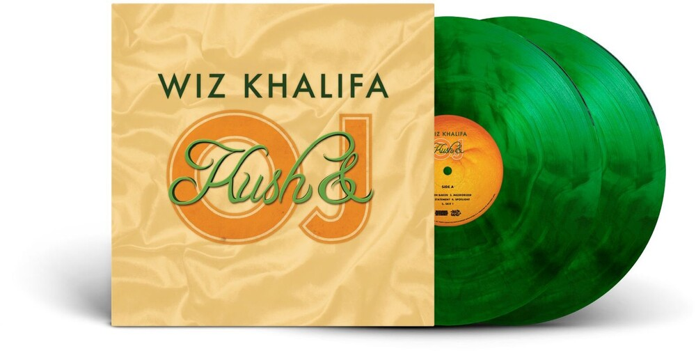 Wiz Khalifa - Kush & Orange Juice [Transparent Green/Black-Galaxy Effect 2LP]