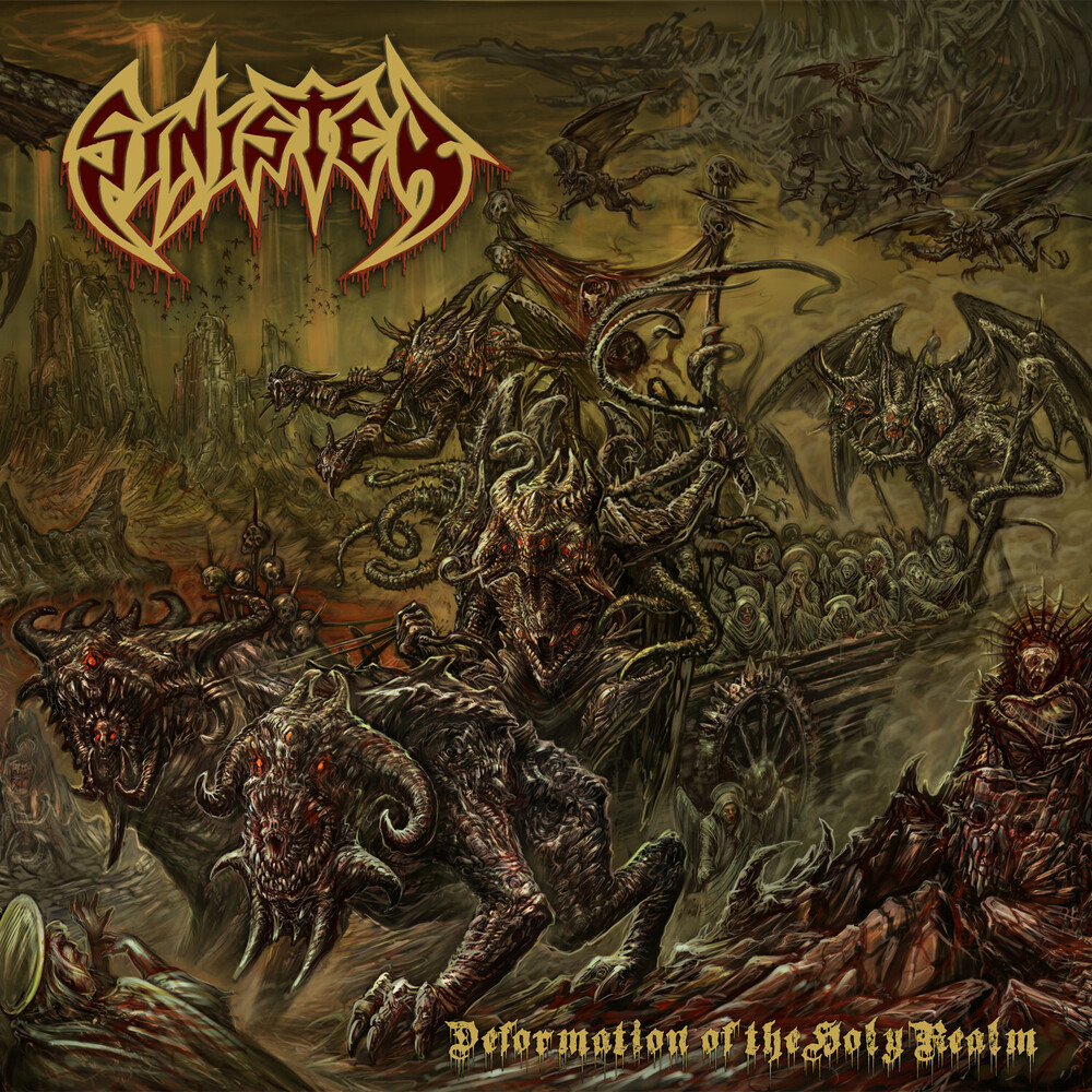 Sinister - Deformation Of The Holy Realm