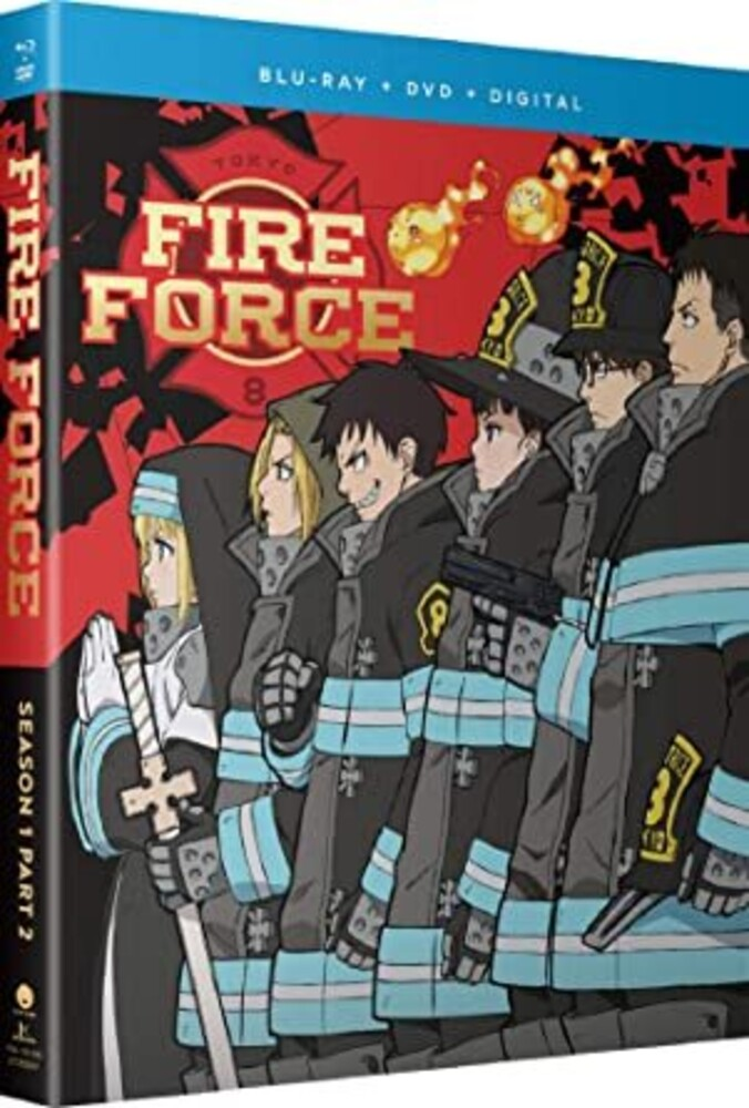 Fire Force: Season One Part Two - Fire Force: Season One Part Two (4pc) (W/Dvd)