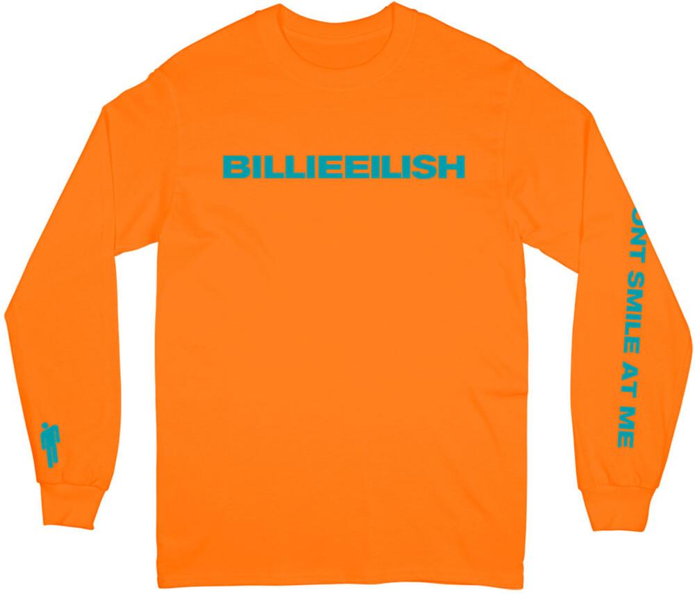 Billie Eilish - Billie Eilish Don't Smile Unisex Long Sleeve T-Shirt Small
