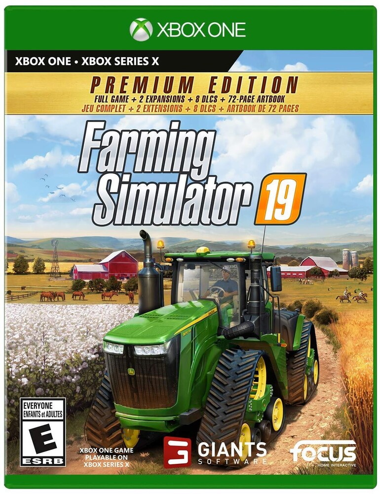 Xb1/Xbx Farming Simulator 19: Premium Ed - Farming Simulator 19: Premium Edition for Xbox One