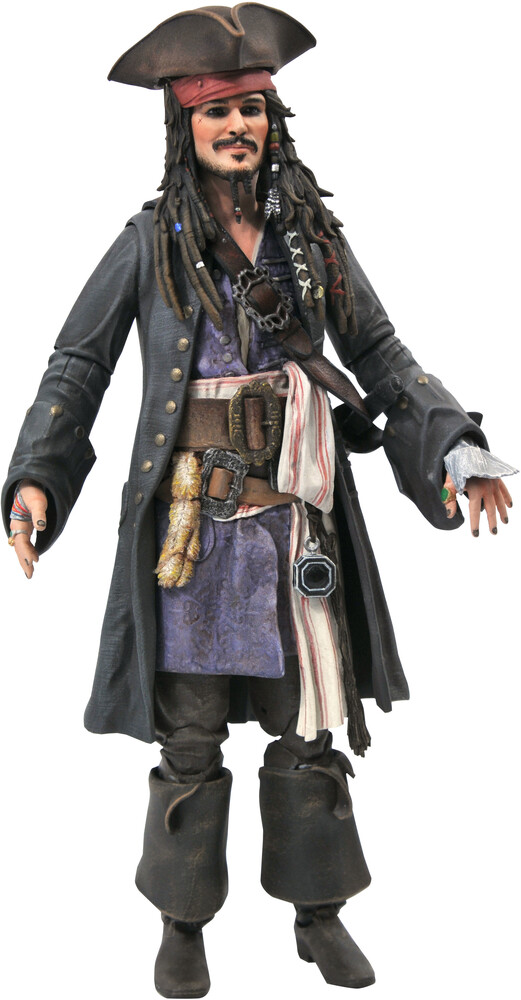 Diamond Select - Diamond Select - Pirates Of The Caribbean Jack Sparrow Figure
