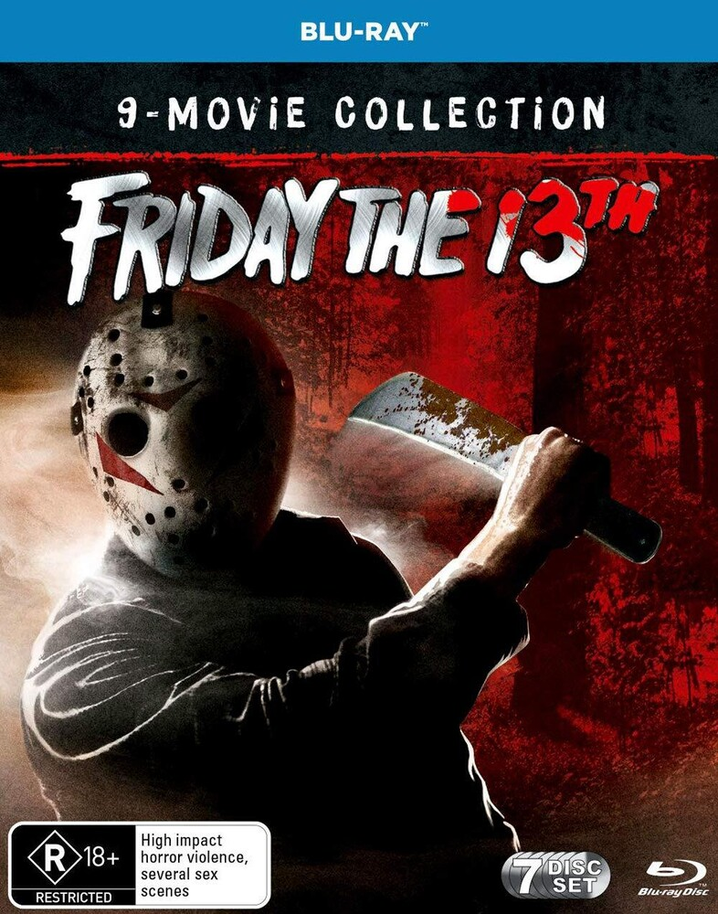 - Friday The 13th Collection (7pc) / (Aus)