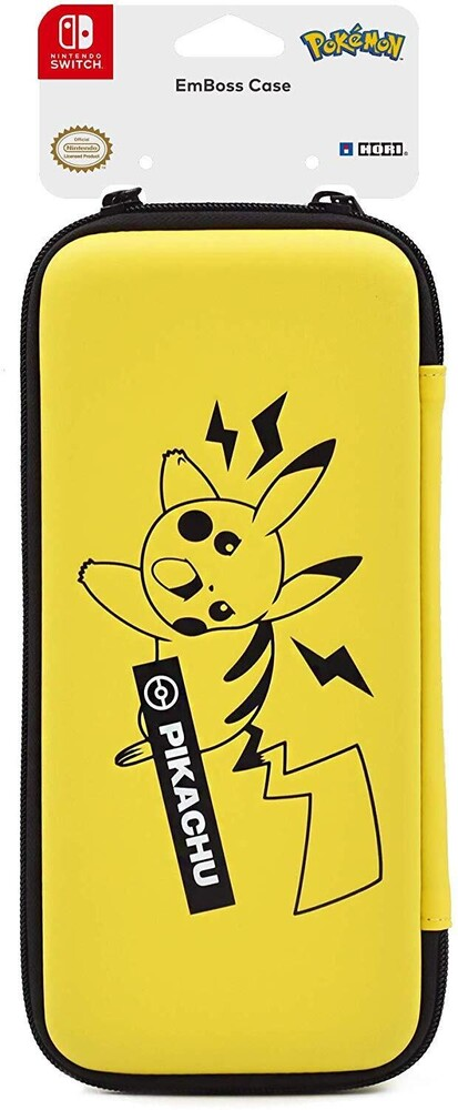 - Hori EmBoss Case (Pikachu) for Nintendo Switch