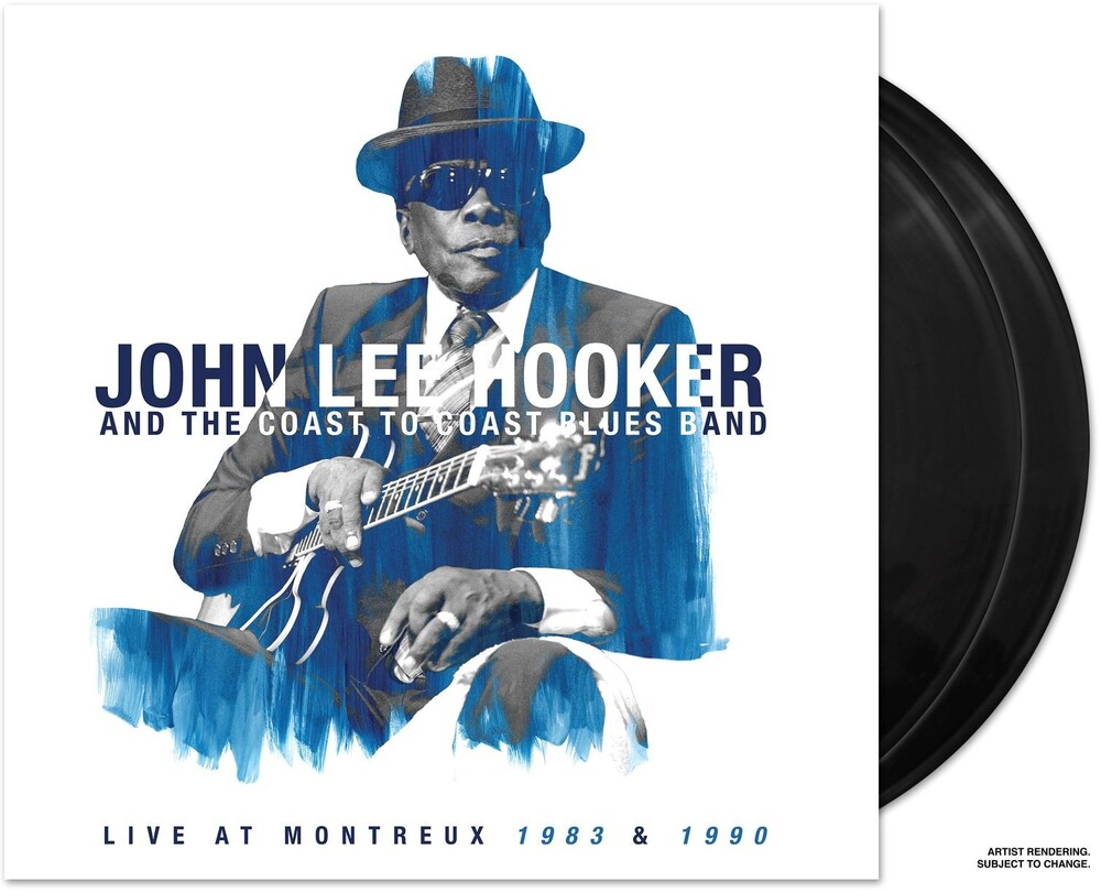 John Lee Hooker - Live At Montreux 1983 & 1990 [2 LP]
