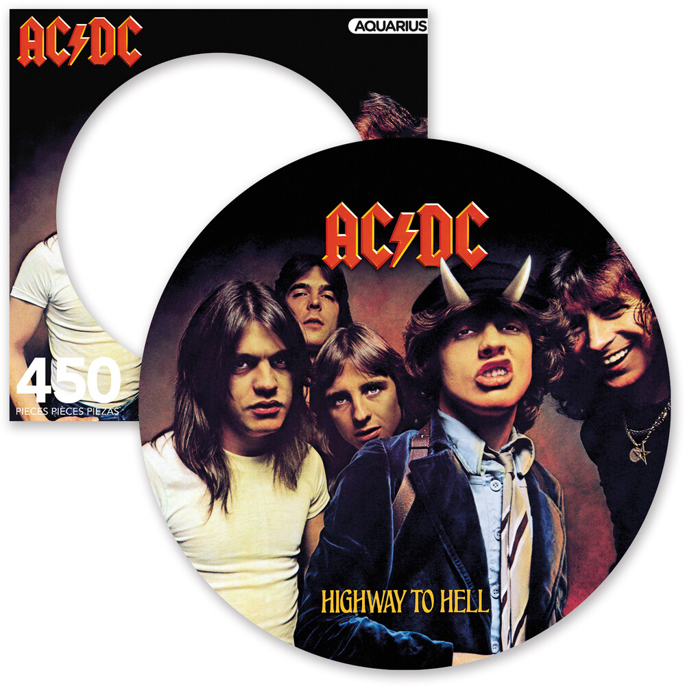 Ac/Dc Highway to Hell 450 PC Picture Disc Puzzle - AC/DC Highway To Hell 450 Pc Picture Disc Puzzle