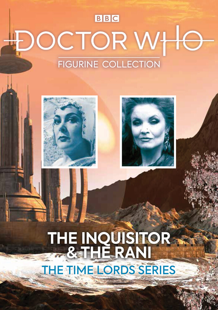 Doctor Who - the Inquisitor and the Rani - Eaglemoss - Doctor Who - The inquisitor and the Rani