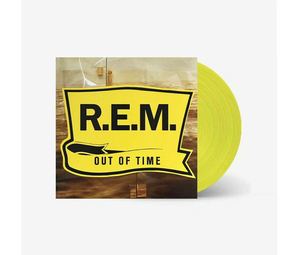 R.E.M. - Out Of Time [Limited Edition] (Ylw)