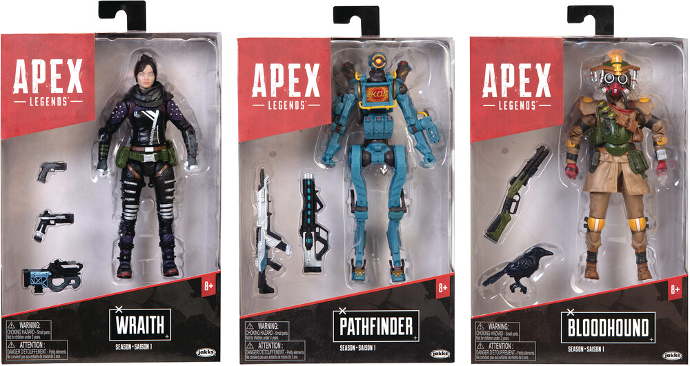 Jakks Pacific - Jakks Pacific - Apex Legends 6 Action Figure Wave 1 Assortment (Net)