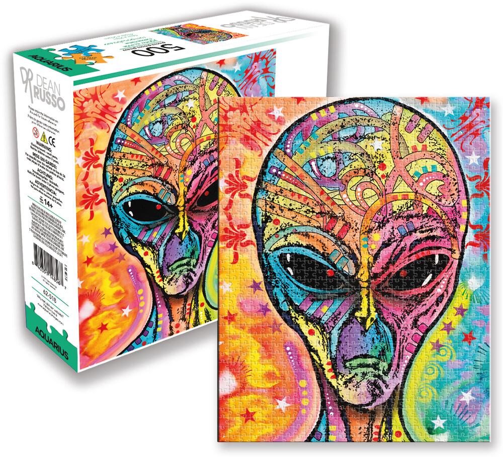 Dean Russo Alien 500 PC Jigsaw Puzzle - Dean Russo Alien 500 Pc Jigsaw Puzzle