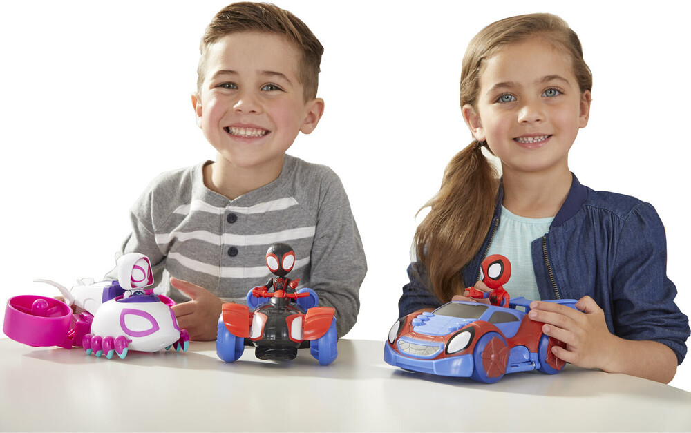 Saf Featured Vehicle Ast - Hasbro Collectibles - Spidey And His Amazing Friends Featured VehicleAssortment