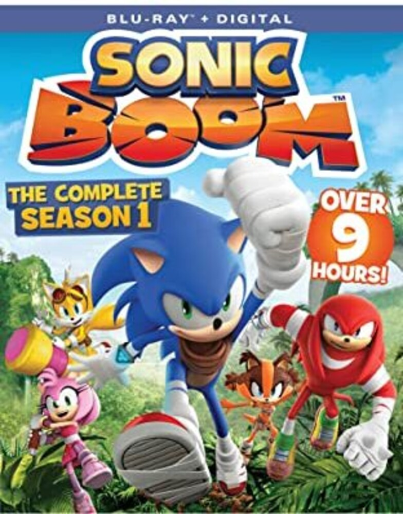 Sonic Boom: The Complete Season 1 Bd - Sonic Boom: The Complete Season 1 BD