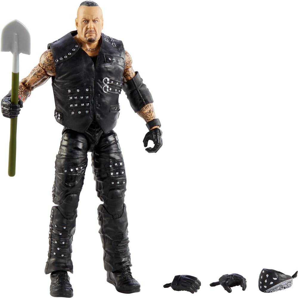WWE - Mattel Collectible - WWE Elite Undertaker, Boneyard Match
