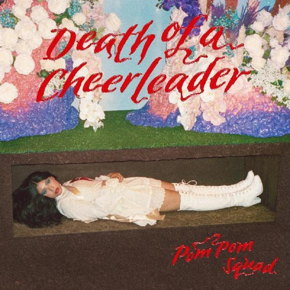 Pom Pom Squad - Death Of A Cheerleader [Colored Vinyl] [Limited Edition] (Red) [Download Included]