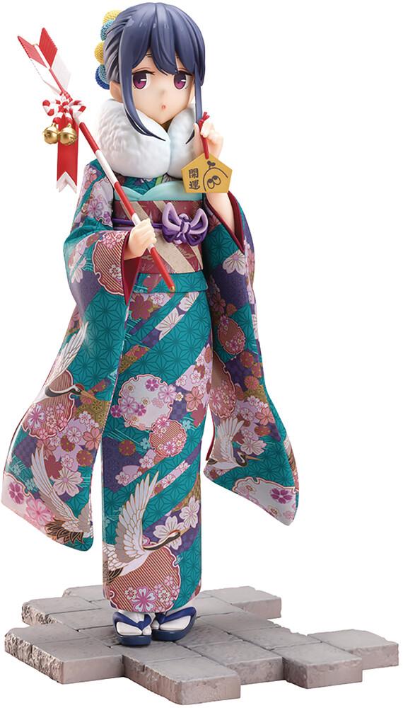 - Yuru Camp Rin Shima Furisode 1/7 Pvc Fig (Clcb)