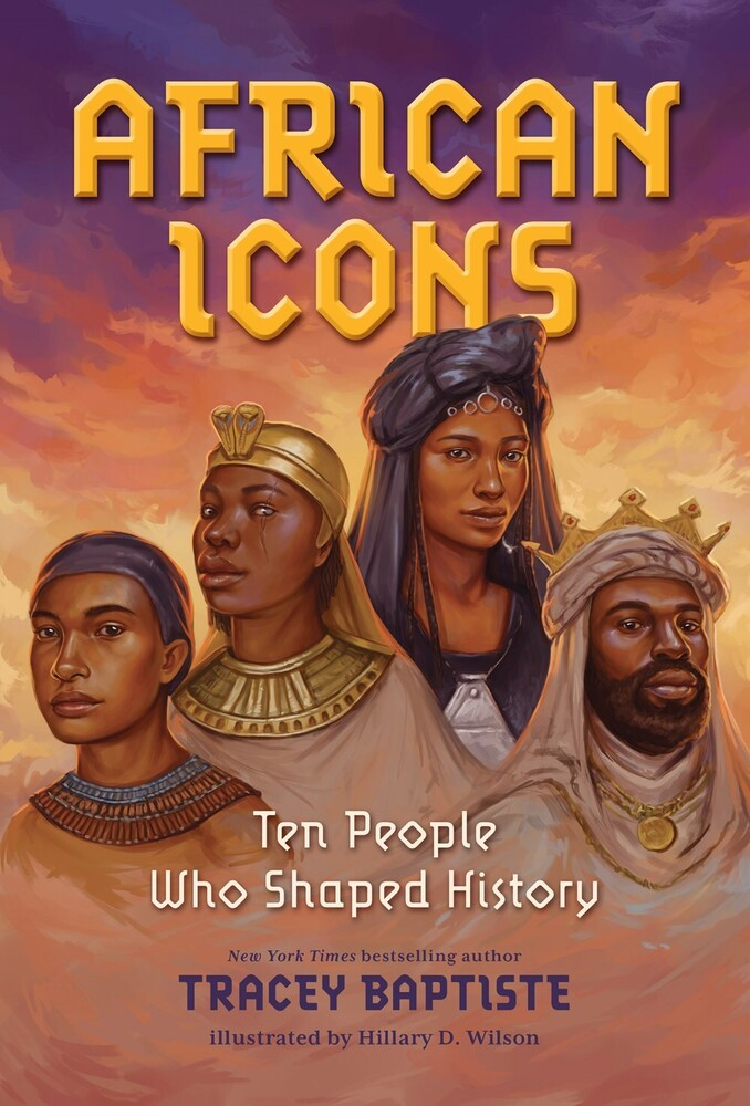 Tracey Baptiste - African Icons (Hcvr)