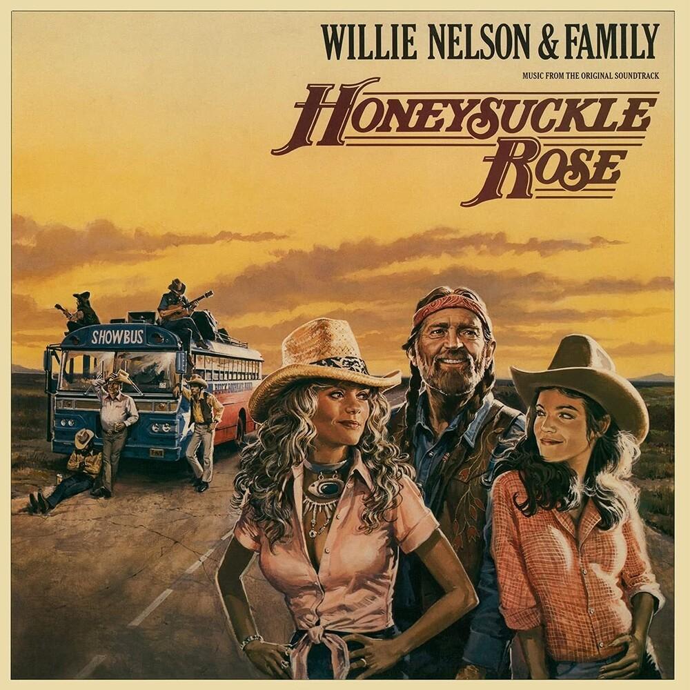 Willie Nelson  & Family (Colv) (Gate) (Ltd) (Ogv) - Honeysuckle Rose / O.S.T. [Colored Vinyl] (Gate) [Limited Edition]