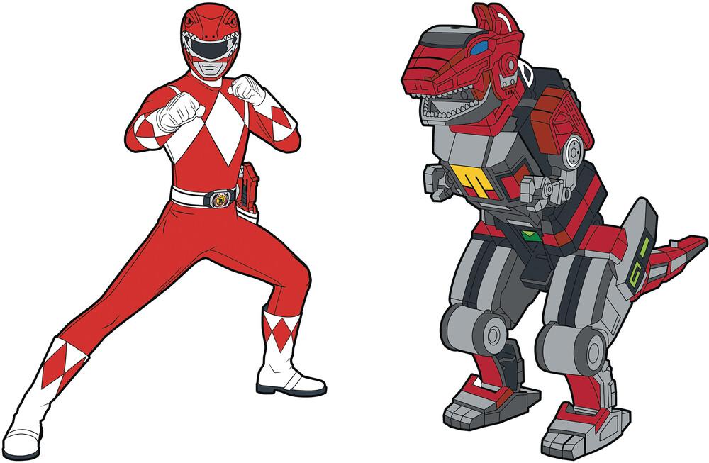- Power Rangers Red Ranger X Tyrannosaurus Zord Pin