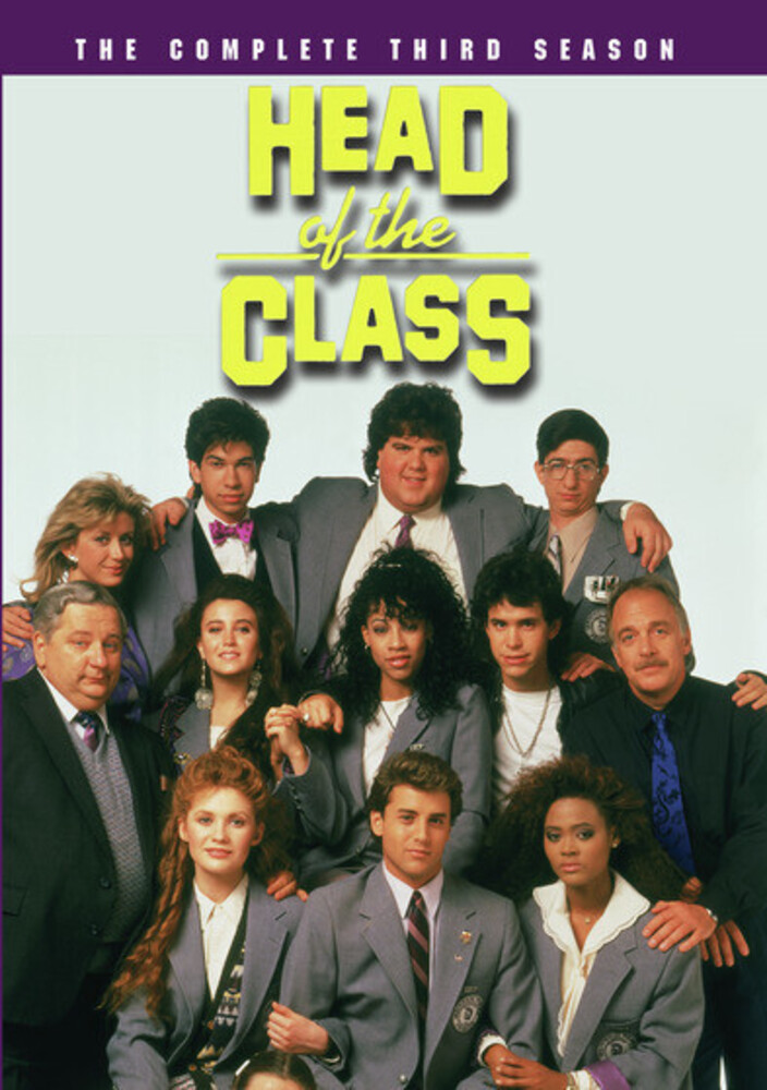 - Head Of The Class: Complete 3rd Season (3pc)