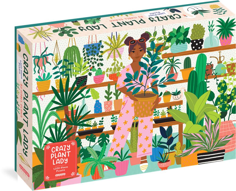 - Crazy Plant Lady 1000 Piece Puzzle (Puzz)