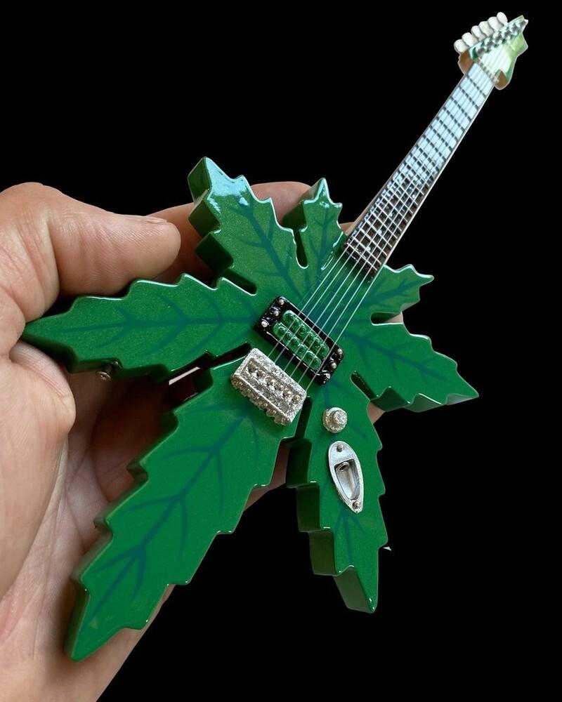 Cheech & Chong Sweet Leaf Mary Jane Mini Guitar - Cheech & Chong Sweet Leaf Mary Jane Mini Guitar