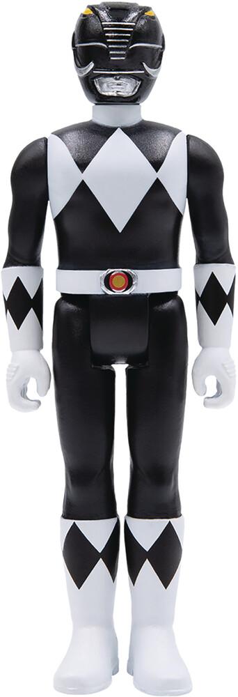 Power Rangers Reaction Wave 2 - Black Ranger - Power Rangers Reaction Wave 2 - Black Ranger (Fig)