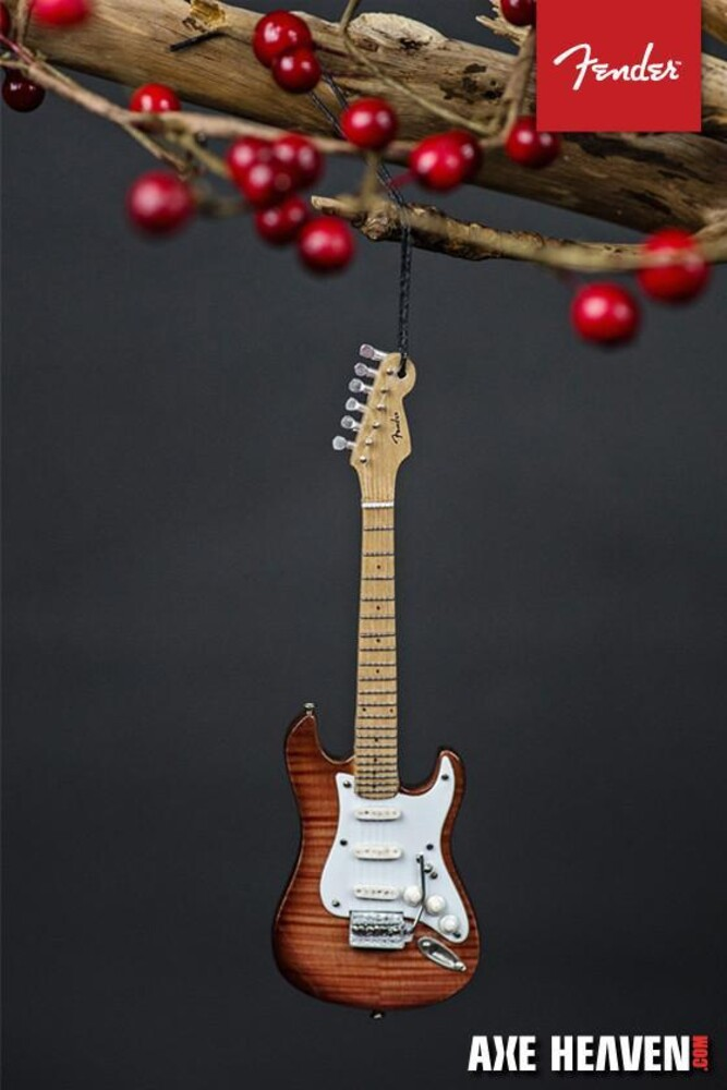Fender 1950s Select Strat 6 Inch Guitar Ornament - Fender 1950s Select Strat 6 Inch Guitar Ornament