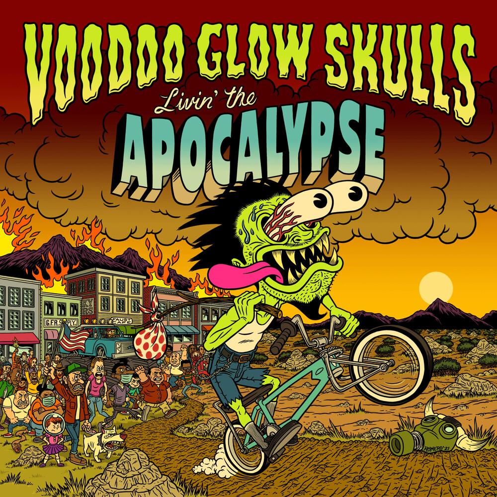 Left Alone / Voodoo Glow Skulls - Livin' The Apocalypse